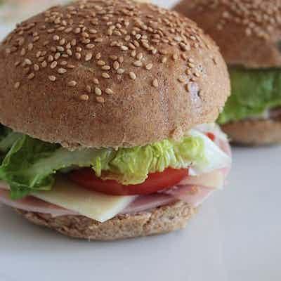 Light Healthy Burger