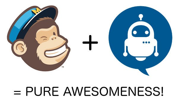 mailchimp integration on chatbots builder
