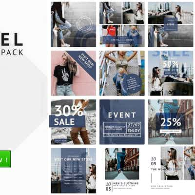 Buy 25 Social Media Design Pack