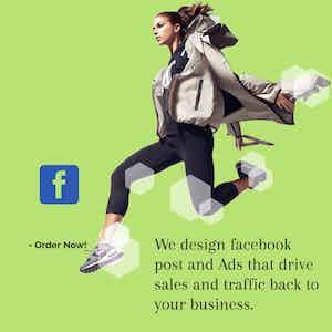 Facebook Ads & Feed Design Pack (10)