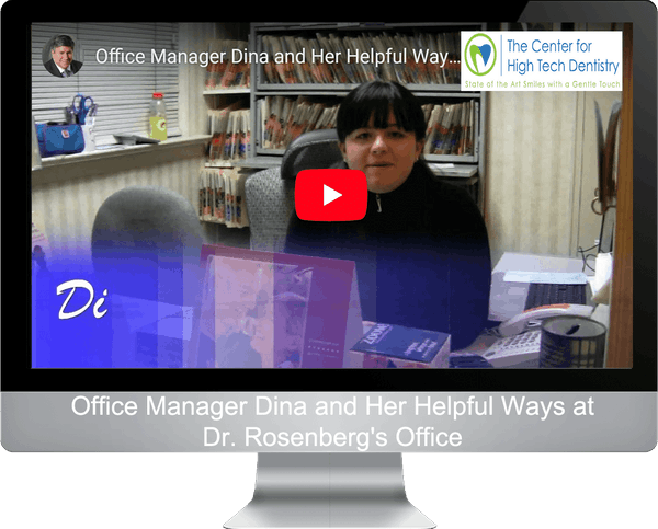 Office Manager Dina and Her Helpful Ways at Dr. Rosenberg's Office