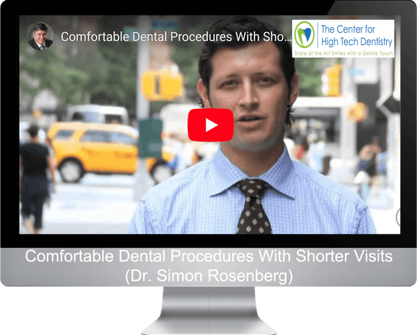 Comfortable Dental Procedures With Shorter Visits (Dr. Simon Rosenberg)