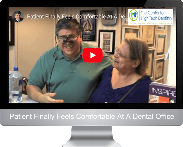Patient Finally Feels Comfortable At A Dental Office