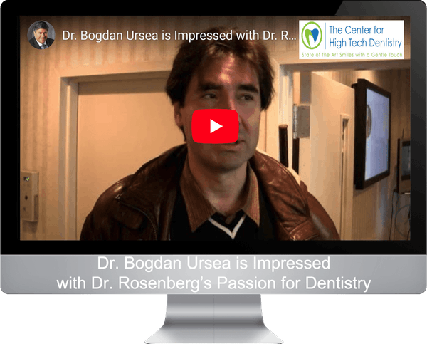Dr. Bogdan Ursea is Impressed with Dr. Rosenberg's Passion for Dentistry