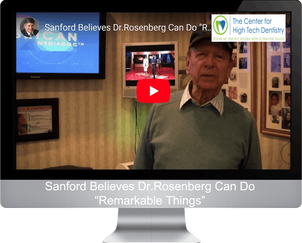 "Sanford Believes Dr.Rosenberg Can Do ""Remarkable Things"""
