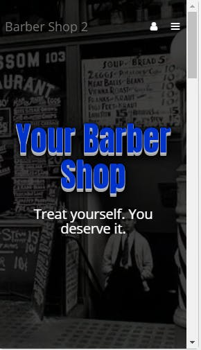 Barber Shop Template 2