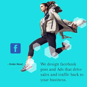 Facebook Ads & Feed Design Pack (10)