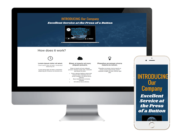 Count Down Landing Page