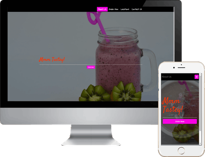 Smoothies Food Ordering