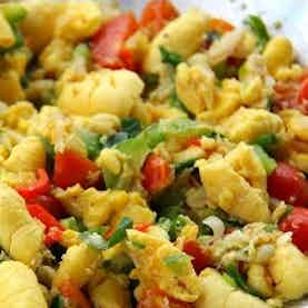 Ackee and Dried Cod