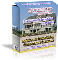 Bathroom Remodeling Contractor Software