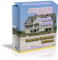 Concrete  Contractor Software