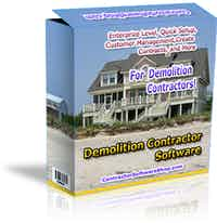 Demolition Contractor Software
