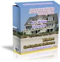 Window Contractor Software