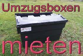 Unsere super stabilen Umzugsboxen