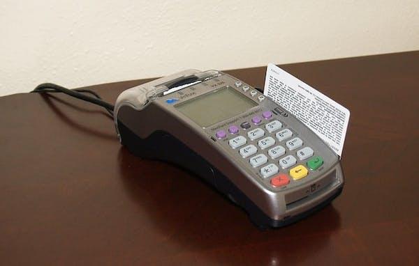 Desktop Credit Card Terminal