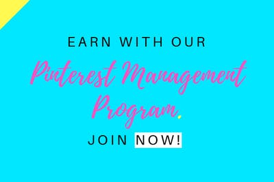 Pinterest Management Program