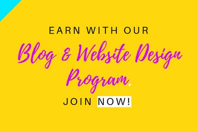 Blog & Website Design Program