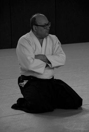 Didier Pénissard Sensei 5ème dan d'aïkido à Parthenay
