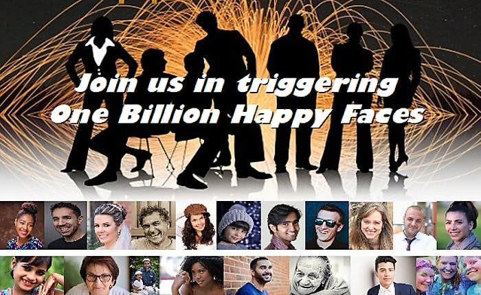 Join Us In Triggering One Billion Happy Faces
