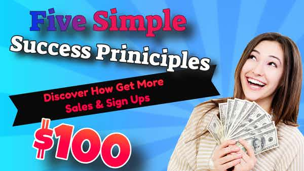 5 Principles of Success In Network Marketing
