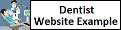 Dentist Website Example