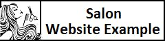 Salon Website Example