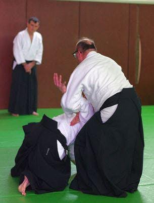 Techniques d'Aikido présentées par Didier Pénissard, enseignant à Parthenay