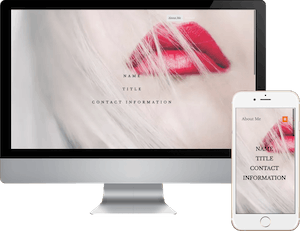 Mobile Beauty Business Card