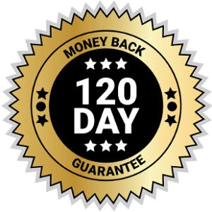120-Day Money Back Guarantee