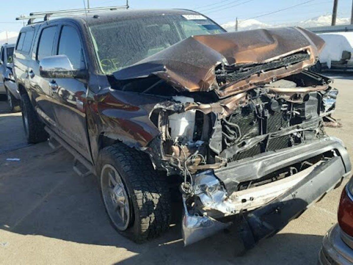 Ogden Body Shop Toyota Tundra Repair