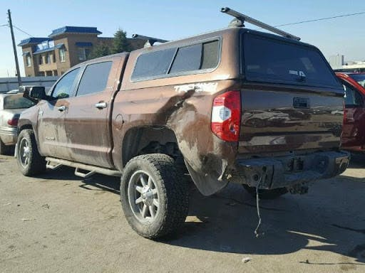 Toyota Tundra Rear Ended