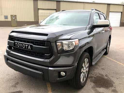 Toyota Sequoia Front End Upgrade