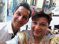 Gen with Dr. Robert Melillo in Bulgaria