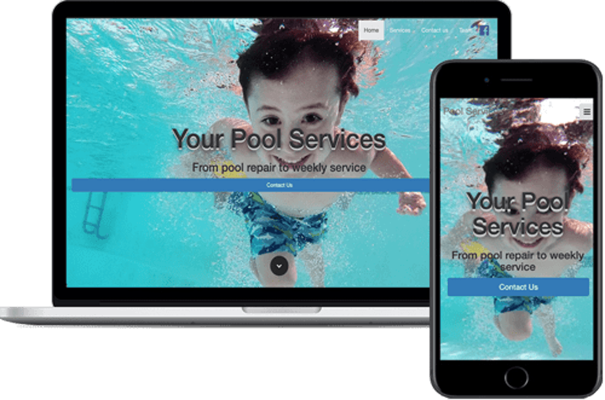 Pool Services Theme