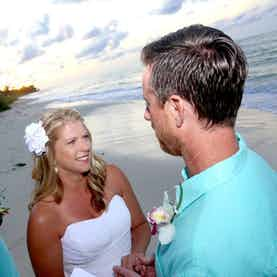 Nassau Vow Renewal Nuptial Beach