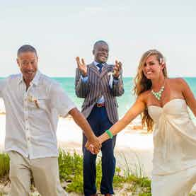 Nassau Vow Renewal on the Beach