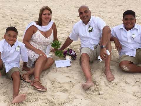 Island Nuptial Bahamas Vow Renewal Package | Basic US $350.00
