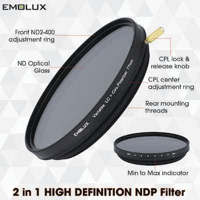 EMOLUX High Definition Combi Filter