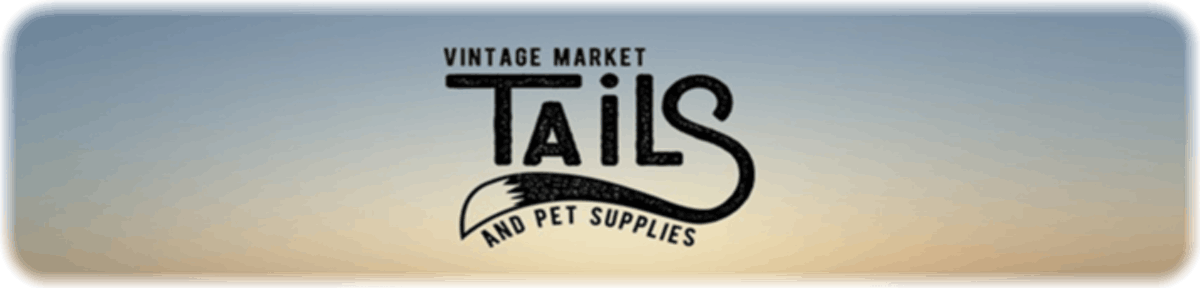 TAILS Logo - Vintage Market & Pet Supplies