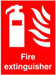 KNOW THE EXTINGUISHER LOCATIONS