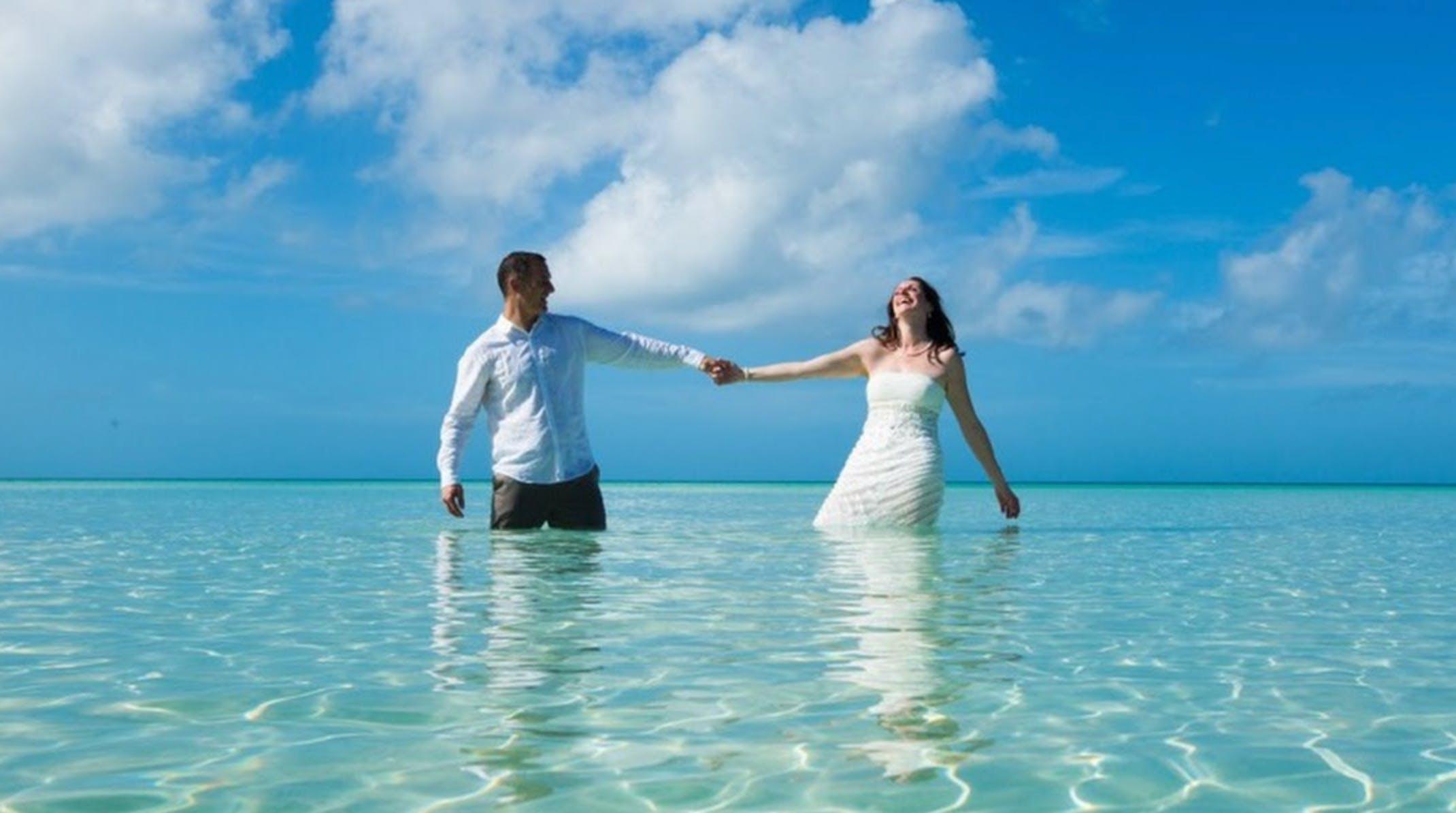 Bahamas Beach wedding