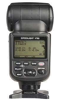 VOELOON Speedlight V760 Flashgun – E-TTL II for Canon