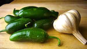 Jalapeño Garlic Infused Olive Oil