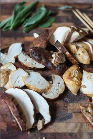 Porcini Mushroom & Sage Infused Olive Oil