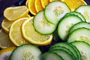 Cucumber Lemon Balsamic Vinegar
