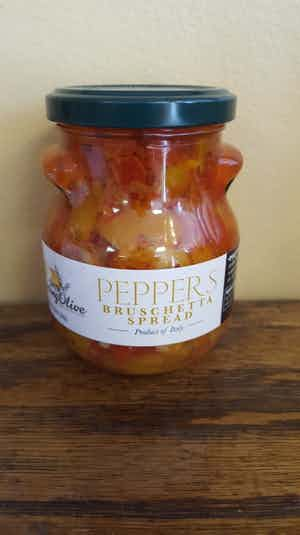 Pepper Bruschetta Spread
