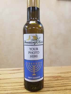 Custom Holiday Bottle - Happy Hanukkah