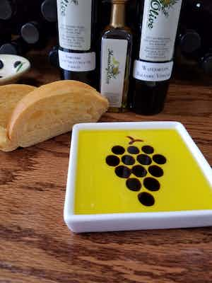 Grape Dipping Dish