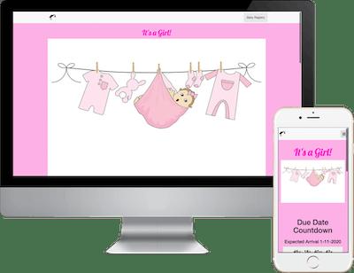 Baby Registry Girl